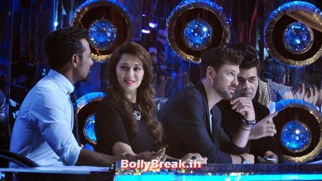 Remo D'Souza, Madhuri Dixit and Karan Johar, Jhalak Dhikhla Jaa 7 Pics - 14 June Episode