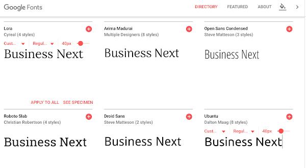 804款字體免費使用!Google新版字體網站上線|數位時代