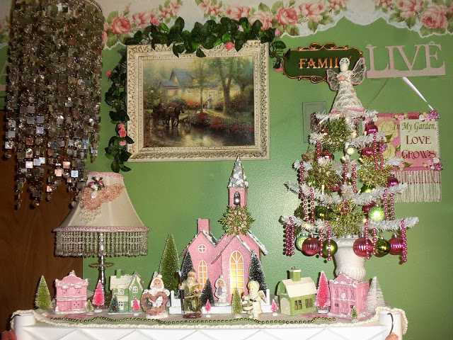 Craft Room Vignettes and 2 More Trees, Part 2, Christmas Home Tour, 2017