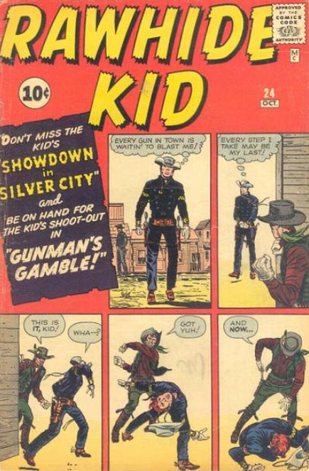 Rawhide Kid Comics