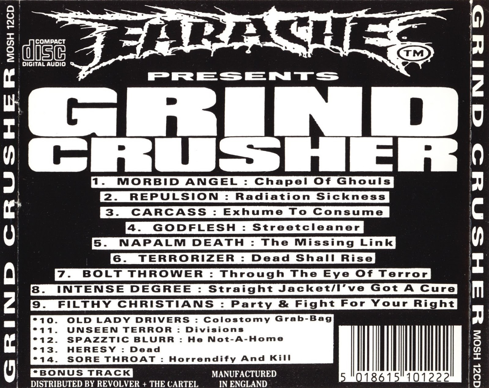 Various - Grindcrusher - The Ultimate Death Metal Collection