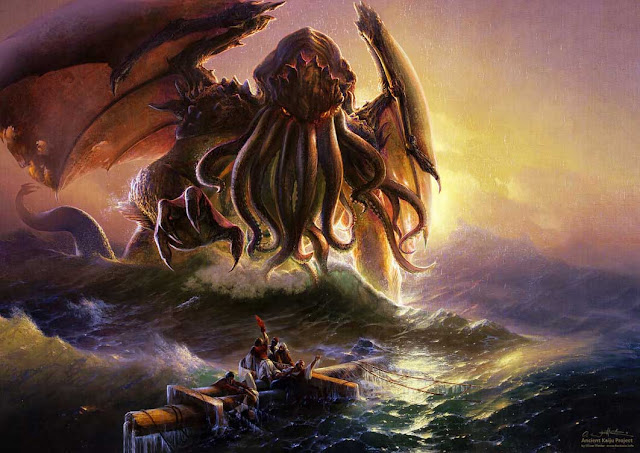 cthulhu painting