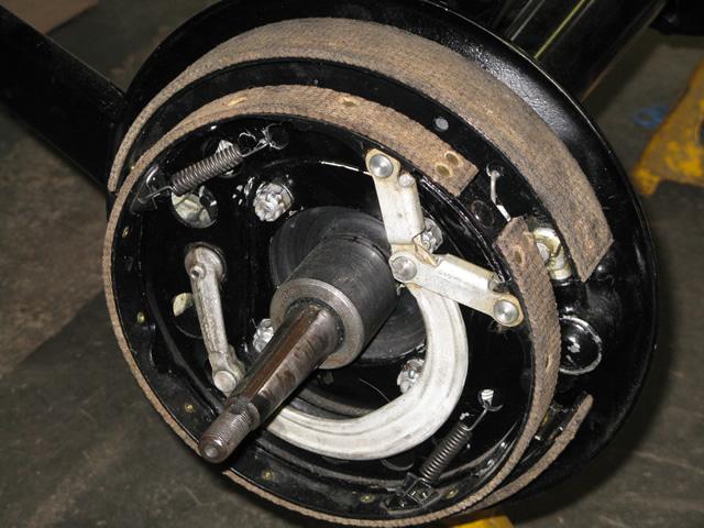 Ford Model A Emergency Brake