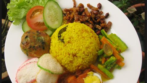 Resep Nasi Kuning Khas Bandung Jawa Barat