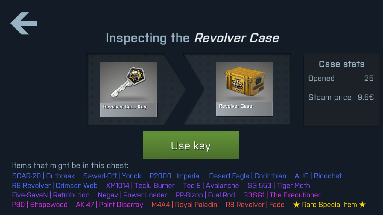 case player apk