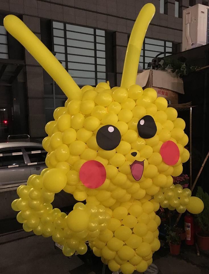 氣球人偶-皮卡丘