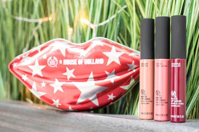 House Of Holland Body Shop Matte Lip Collection