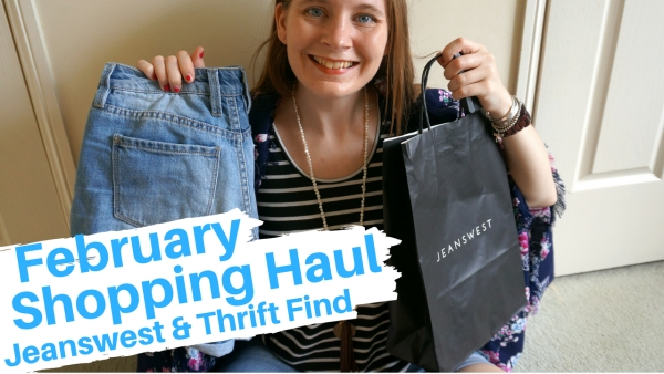 away from the blue blog february shopping haul YouTube video
