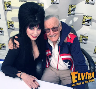 Elvira and Stan Lee