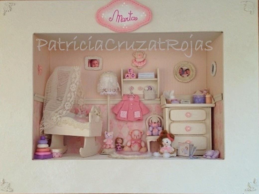 Patricia cruzat artesania y color dormitorio beb ni a - Cuadro habitacion bebe ...