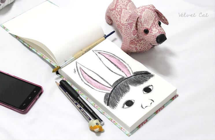 ilustration rabbit boy niño conejo ilustración