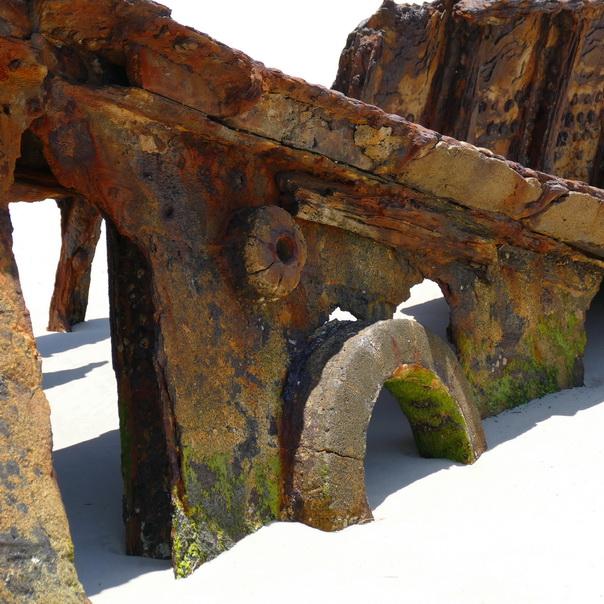 Bulwer Wrecks Schiffs-Wrack Moreton Island Bullauge