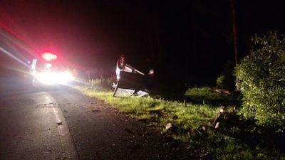 Acidente na rodovia SC 135