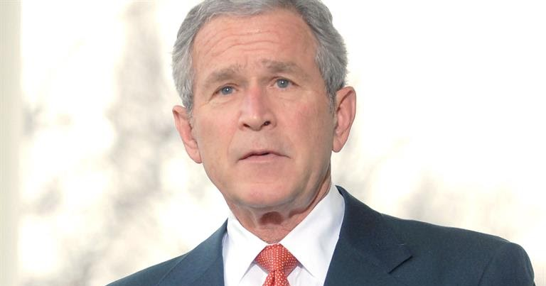 critical paper george w bush stem Cowboy and misanthrope: a critical (discourse) analysis of bush and bin laden cartoons.