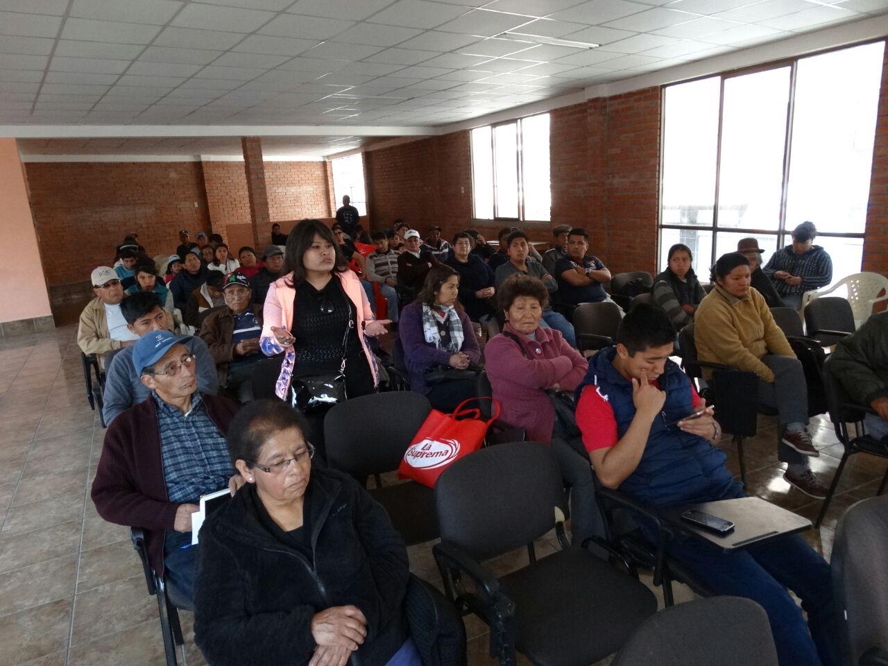 Reunión de los vecinos de la zona Garita de Lima de este domingo
