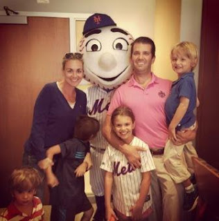 Donald Trump Jr family