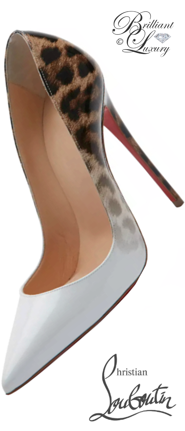 Brilliant Luxury ♦ Christian Louboutin So Kate Degrade red sole pumps