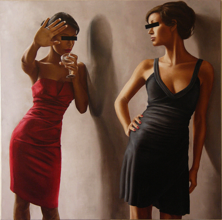 Annick Bouvattier Women Figurative Painter