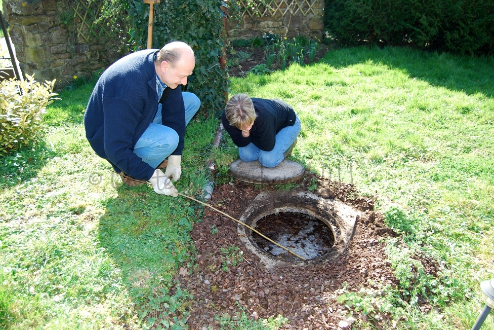 Chateau moorhen septic tank saturday for How big septic tank do i need