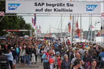 Kieler Woche: Kiellinie 2013