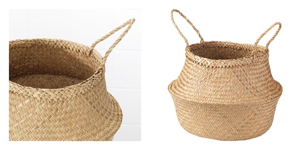 La valse d amelie ideas deco cestas de mimbre - Cestas de mimbre ikea ...