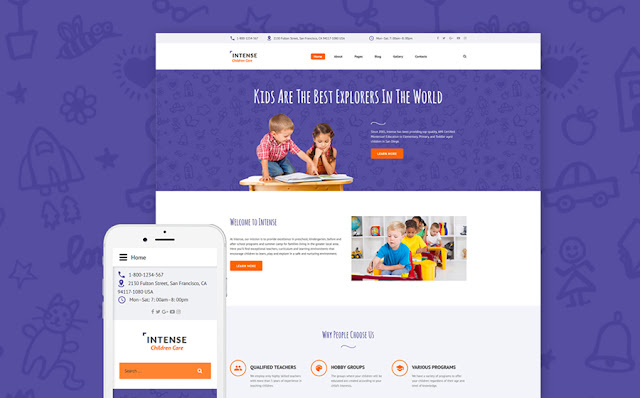 Children Education Joomla Theme