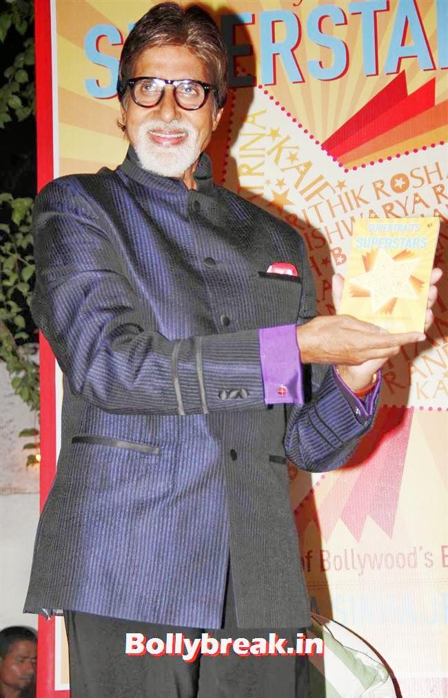 Amitabh Bachchan, Anjana Sukhani at Supertraits of Superstars Book Launch