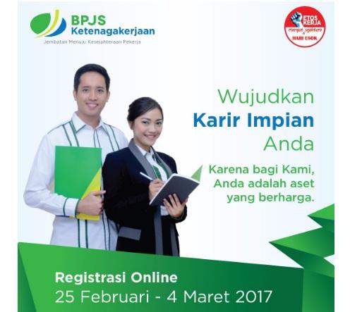 Lowongan Kerja BPJS Ketenagakerjaan Tahun 2017