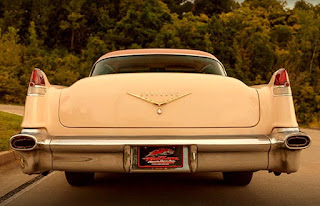 1956 Cadillac Coupe DeVille Rear
