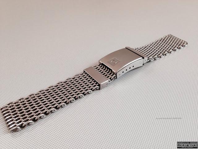 Dây Mesh shark gốc dùng cho đồng hồ OMEGA