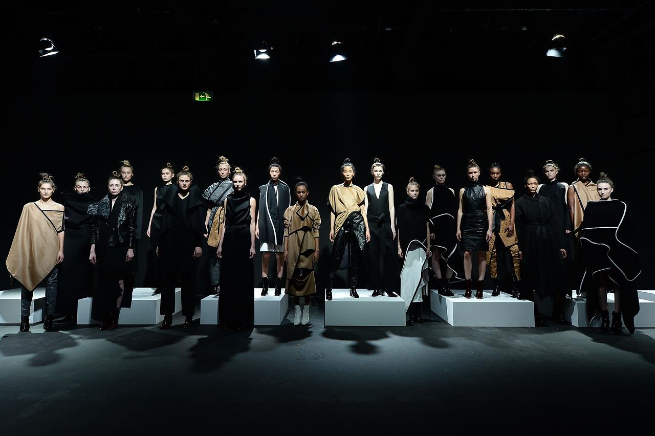 Ana Maddock- London Fashion Week AW 16-17 Sid Neigum Getty Images