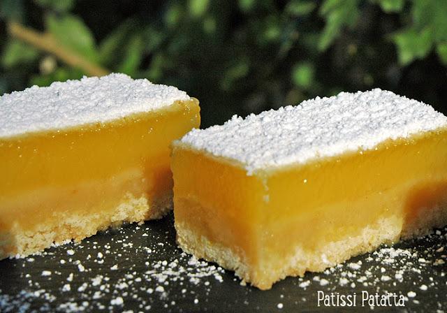 recette de barres au citron, recette de lemon bars, barres au citron, lemon bars, tutoriel de barres au citron, tutoriel gâteau au citron, cuisiner un gâteau au citron, dessert au citron, tuto dessert au citron.