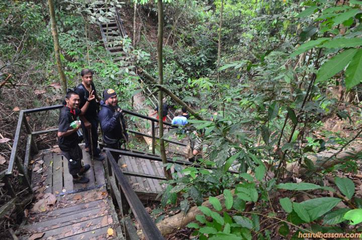 Treckking Lubuk Simpon, Taman Negara