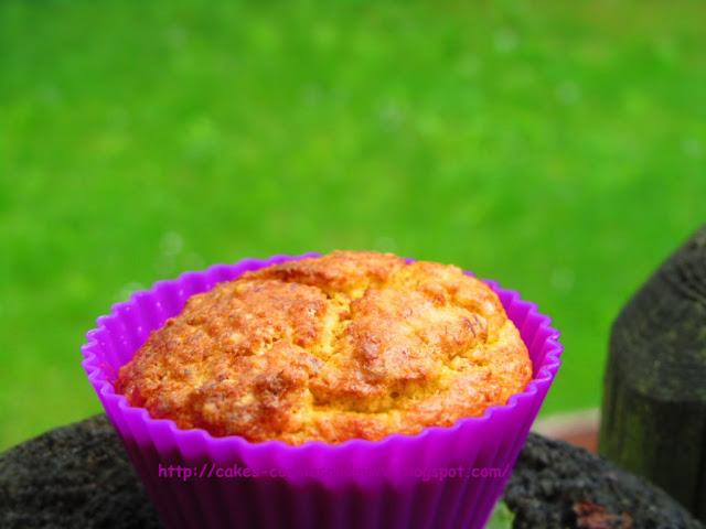 Rüeblimuffins (Karottenmuffins) mit Stevia