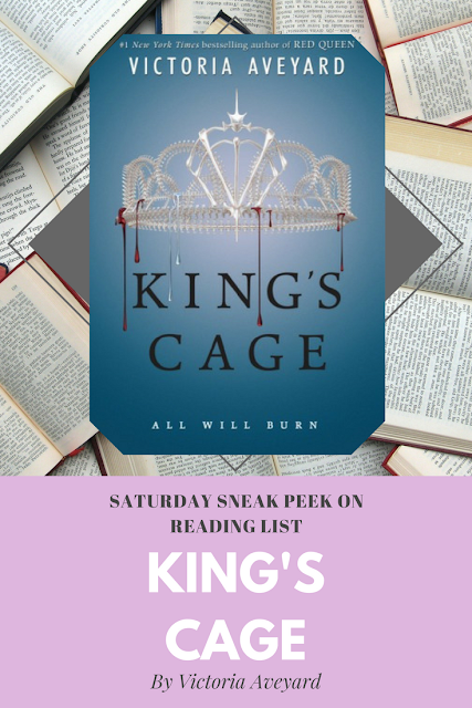King's Cage by Victoria Aveyard a Sneak Peek on Reading List