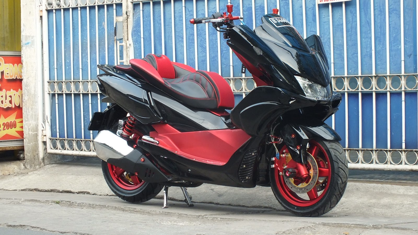 Gambar Modifikasi Jok Honda Pcx 2019 Sobotomotif