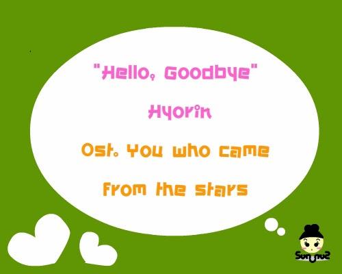 เพลง ประกอบ you who came from the stars