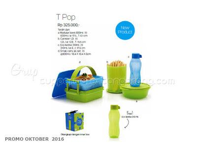 T Pop ~ Tupperware Promo Oktober 2016