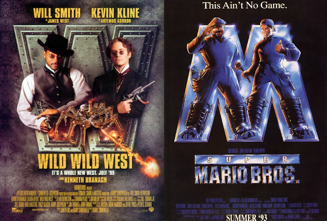 I'm sure the late Bob Hoskins always wished he could do to all copies of the Super Mario Bros. movie the same exact thing that the IRA does to Bob Hoskins at the end of The Long Good Friday.