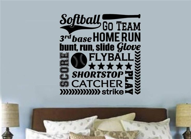 Softball Bedroom Decorations Design And Ideas 9