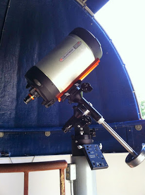 C11 OTA Mounted on a Losmandy G11 Equatorial Mount