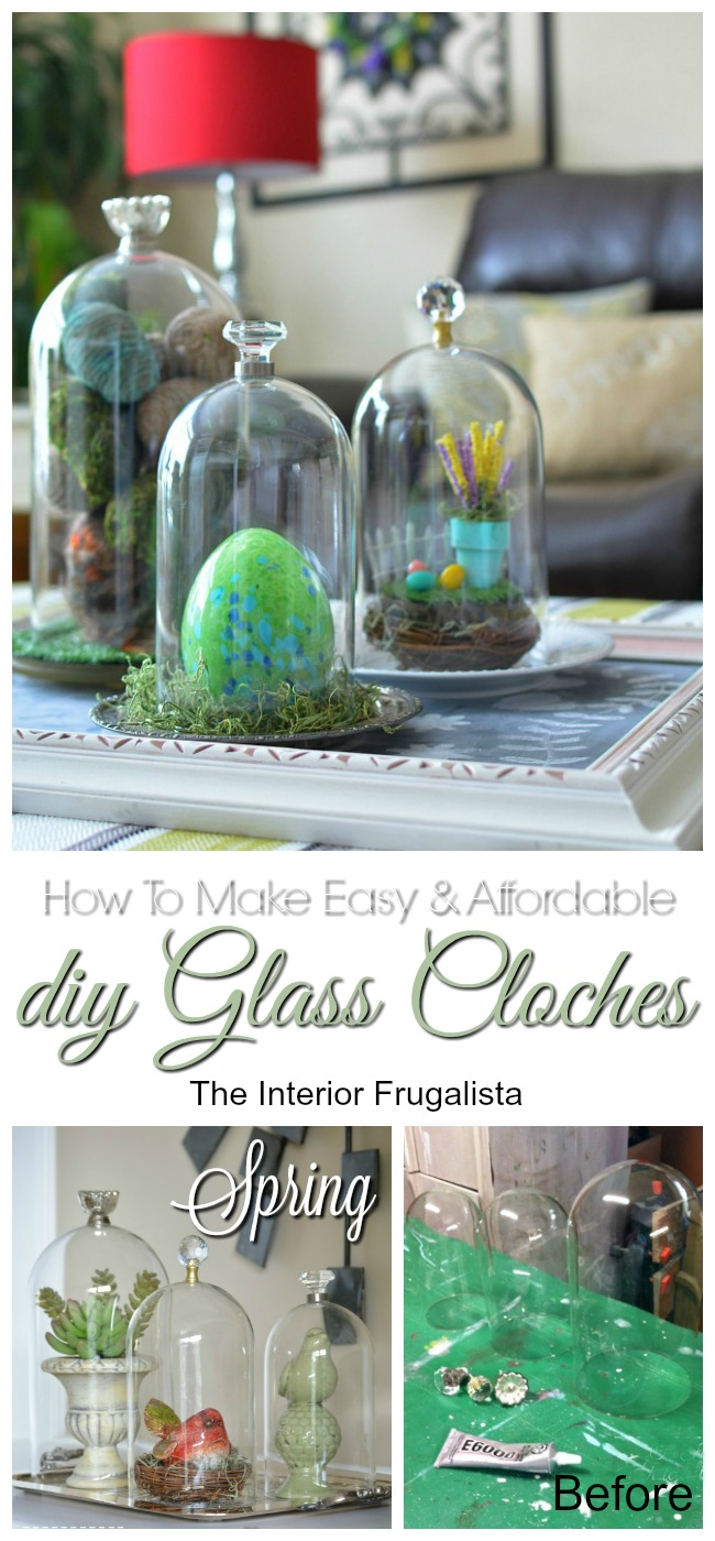 How To Make Easy and Affordable DIY Glass Cloches