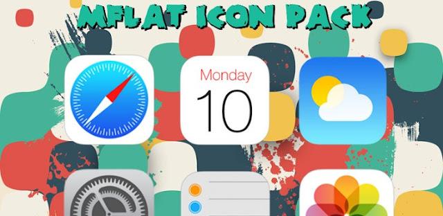 MFlat Icon Pack v3.0.0 Apk Miki