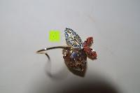Vorderseite: Neoglory Jewellery 14 K gold mit Swarovski® Elements Ohrringe Schmetterling gelb
