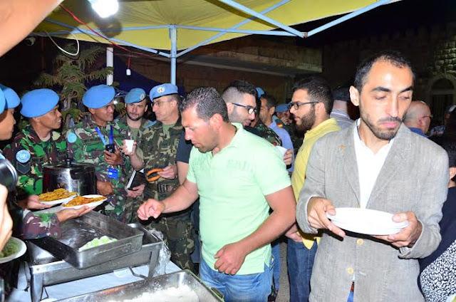 Kontingen Garuda Perkenalkan Kesenian Tradisional dan Kuliner di Lebanon