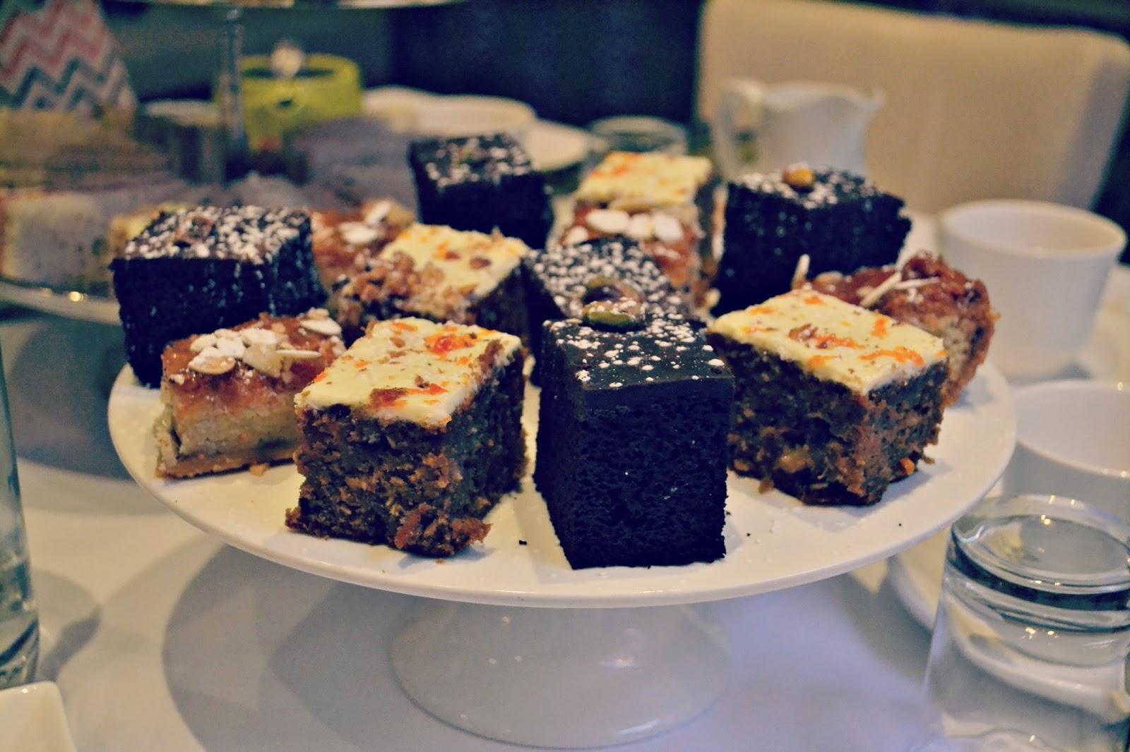 Tea and cakes at Harington House Bath