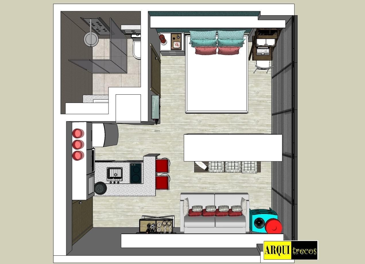 dica de de espa o m veis junto s paredes cria o de assentos extras sof cama. Black Bedroom Furniture Sets. Home Design Ideas