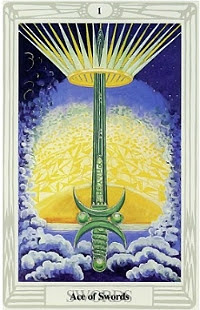 The Ace of Swords, Thoth