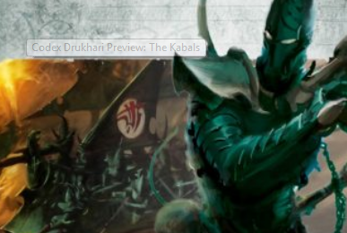 Drukhari Codex Preview: The Kabals
