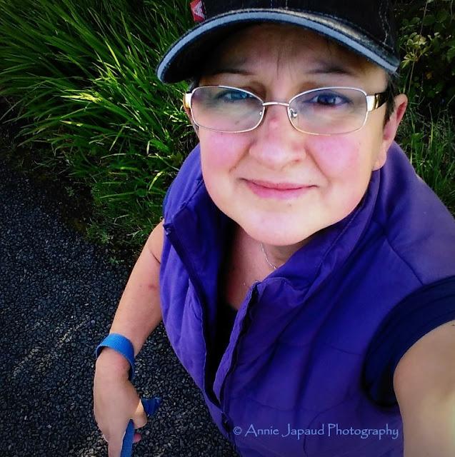 Annie Japaud photography selfie